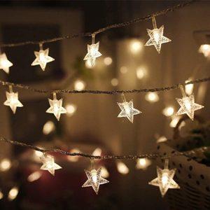 étoile décorative lumière de noël